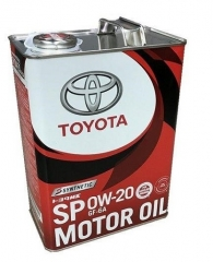 TOYOTA MOTOR OIL SP/GF6A 0W-20 (08880-13205, 08880-13206)