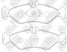 Колодки тормозные задние NIBK PN0168
