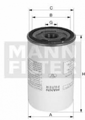 Сепаратор MANN-FILTER LB 1374/2