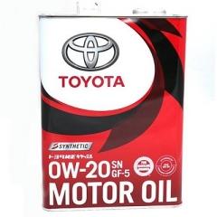 TOYOTA MOTOR OIL SN GF-5 0W-20 (08880-12205,08880-12206)