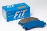 Колодки тормозные FiT FP1500