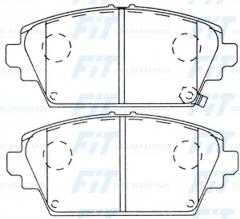 Колодки тормозные FiT FP8182