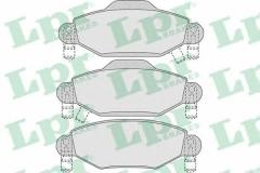 Колодки тормозные дисковые LPR 05P1001