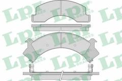 Колодки тормозные дисковые LPR 05P1040