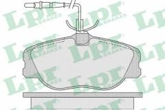 Колодки тормозные дисковые LPR 05P1104