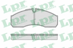 Колодки тормозные дисковые LPR 05P1109