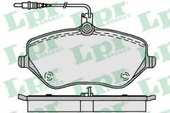 Колодки тормозные дисковые LPR 05P1202