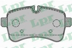 Колодки тормозные дисковые LPR 05P1296