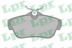 Колодки тормозные дисковые LPR 05P1460
