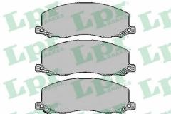 Колодки тормозные дисковые LPR 05P1468