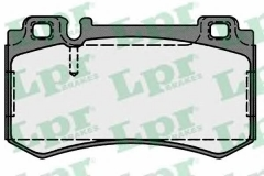 Колодки тормозные дисковые LPR 05P1719