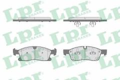 Колодки тормозные дисковые LPR 05P1735