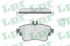 Колодки тормозные дисковые LPR 05P1780
