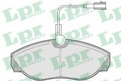 Колодки тормозные дисковые LPR 05P773