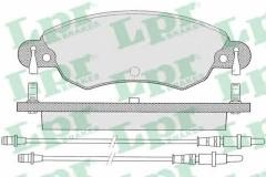 Колодки тормозные дисковые LPR 05P792