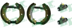 Колодки тормозные барабанные LPR OEK578