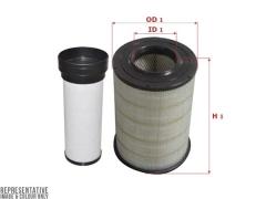 Фильтр воздушный SAKURA A7122S, к-т 2шт