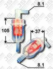 Фильтр топливный JS ASAKASHI FS0014