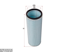 Фильтр воздушный SAKURA A89060