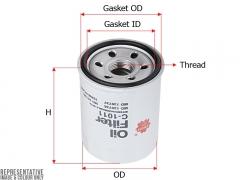 Фильтр масляный SAKURA C1011