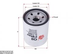 Фильтр масляный SAKURA C1404