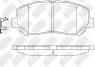 Колодки тормозные NIBK PN25000