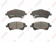 Колодки тормозные дисковые ABE C12123ABE