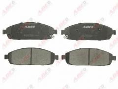 Колодки тормозные дисковые ABE C1Y026ABE