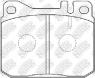 Колодки тормозные NIBK PN0003