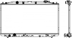 Радиатор охлаждения SAKURA 3071-8504