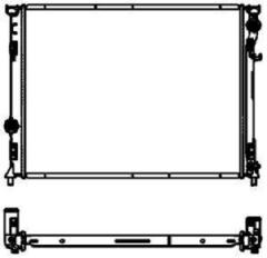 Радиатор охлаждения SAKURA 3091-1013