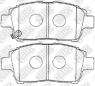 Колодки тормозные NIBK PN1472