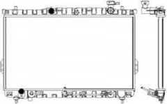 Радиатор охлаждения SAKURA 3221-1006