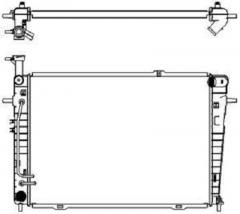Радиатор охлаждения SAKURA 3221-1011