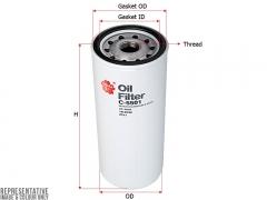 Фильтр масляный SAKURA C5501