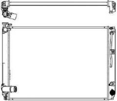 Радиатор охлаждения SAKURA 3271-8501