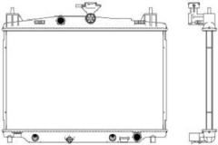 Радиатор охлаждения SAKURA 33011047