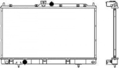 Радиатор охлаждения SAKURA 3321-1014