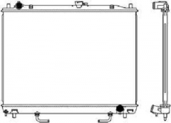 Радиатор охлаждения SAKURA 3321-1050