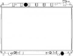 Радиатор охлаждения SAKURA 3341-1036