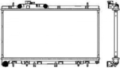 Радиатор охлаждения SAKURA 3421-1020