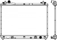 Радиатор охлаждения SAKURA 34318502