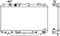 Радиатор охлаждения SAKURA 34611019