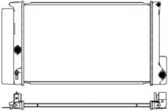 Радиатор охлаждения SAKURA 3461-7002