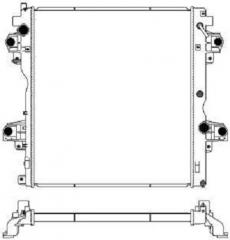Радиатор охлаждения SAKURA 3461-8544