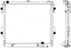 Радиатор охлаждения SAKURA 3462-1010
