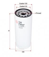 Фильтр масляный SAKURA C5206