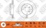 Диск тормозной NIBK RN1129V