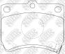 Колодки тормозные NIBK PN5165