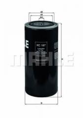 Фильтр топливный MAHLE/KNECHT KC 187